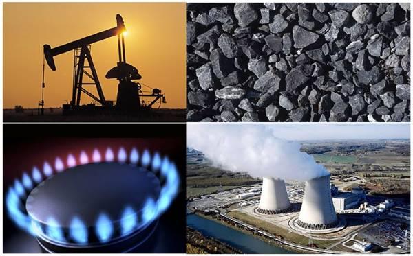 Yenilenemez Enerji Kaynakları, enerji kaynakları