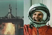 Yuri Gagarin, uzaya çıkan ilk insan